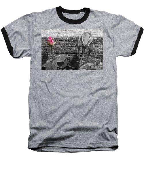 A Pop Of Pink Baseball T-Shirt