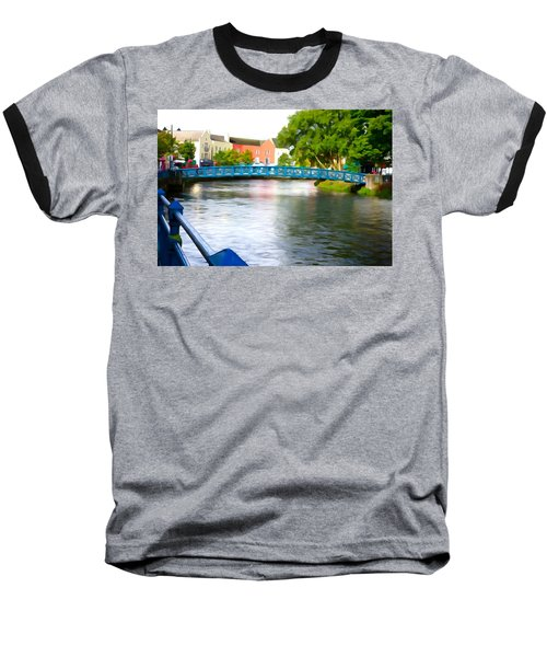 Baseball T-Shirt featuring the photograph A River Runs Through It by Charlie and Norma Brock