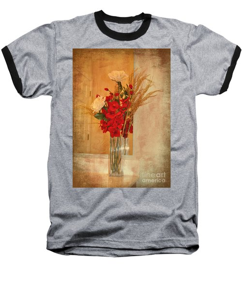 A Rose By Any Other Name Baseball T-Shirt by Kathy Baccari