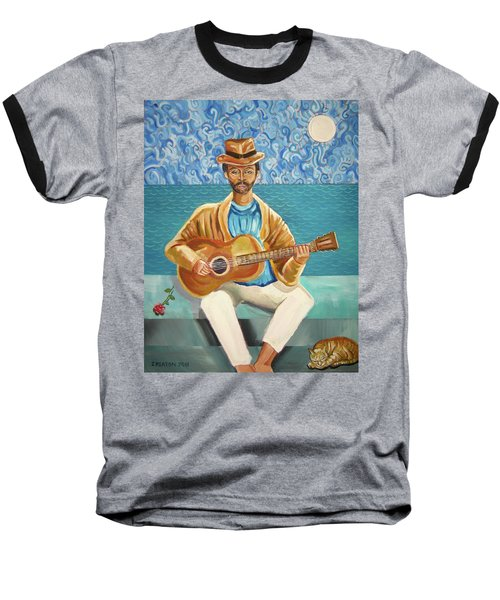 A Sad Song Baseball T-Shirt by John Keaton