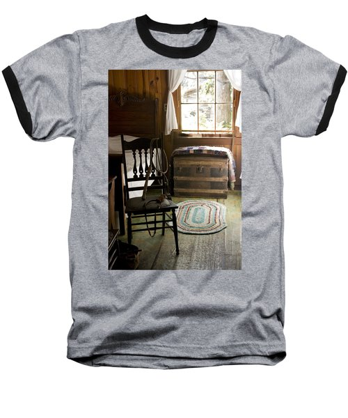 Baseball T-Shirt featuring the photograph A Simpler Life by Lynn Palmer