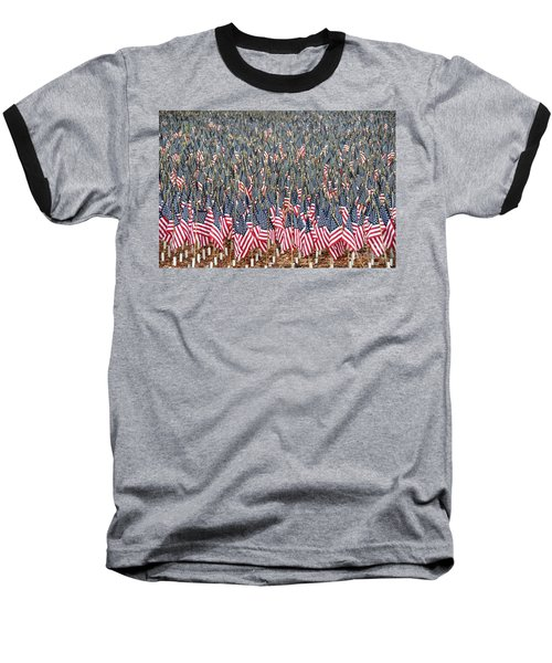A Thousand Flags Baseball T-Shirt