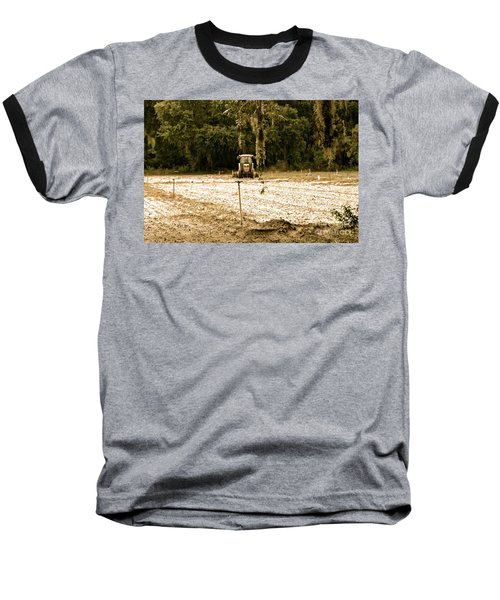 Baseball T-Shirt featuring the photograph A Time To Plant by Carol  Bradley