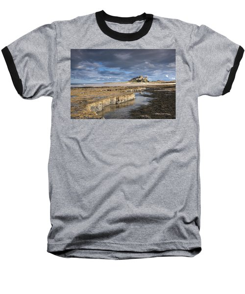 A View Of Bamburgh Castle Bamburgh Baseball T-Shirt