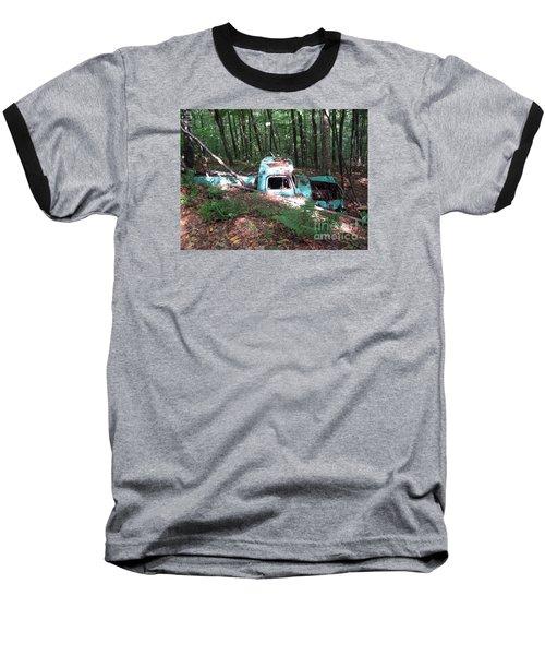 Abandoned Catskill Truck Baseball T-Shirt