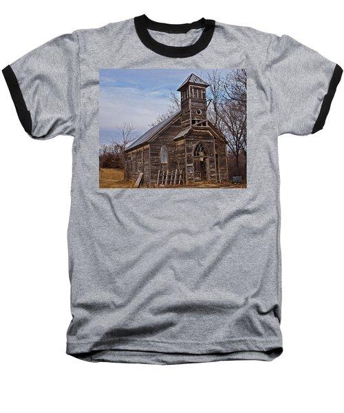 Abandoned Church Baseball T-Shirt