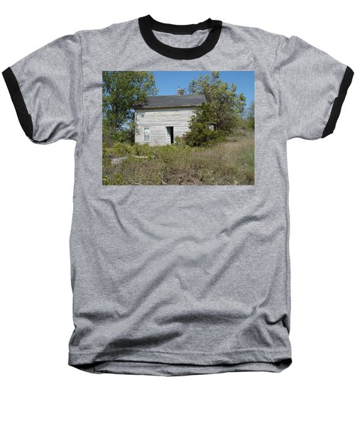 Baseball T-Shirt featuring the photograph Abandoned by Bonfire Photography