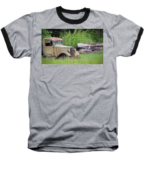 Baseball T-Shirt featuring the photograph Abandoned by Steve McKinzie