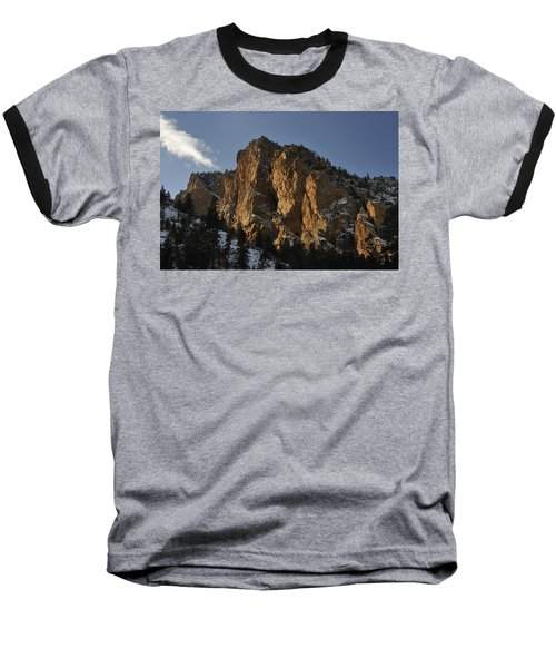 Baseball T-Shirt featuring the photograph Above Red River I by Ron Cline