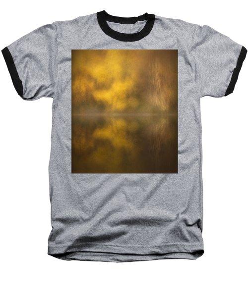 Abstract Birch Reflections Baseball T-Shirt