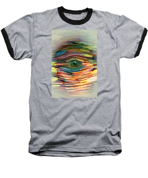 Abstract Eye Baseball T-Shirt