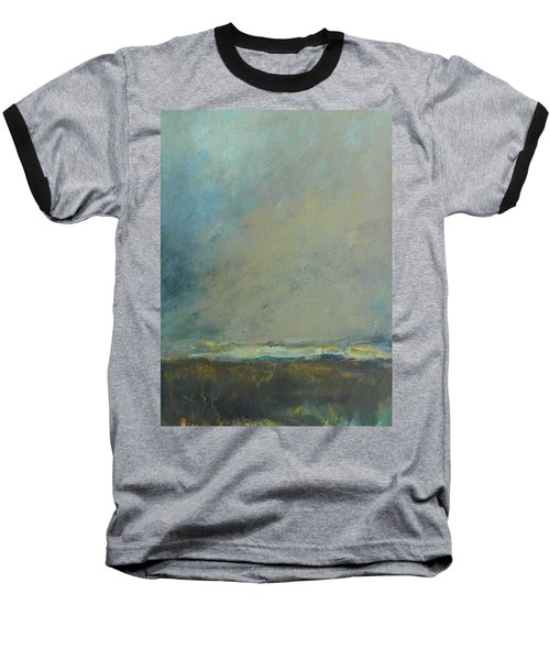 Abstract Landscape - Horizon Baseball T-Shirt
