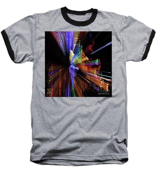 Abstract Lights Baseball T-Shirt