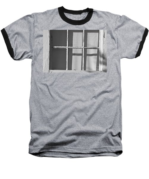 Abstract Window In Light And Shadow Baseball T-Shirt