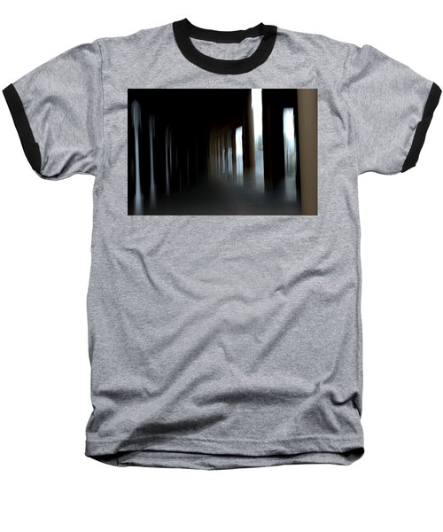Baseball T-Shirt featuring the mixed media Abyss by Terence Morrissey