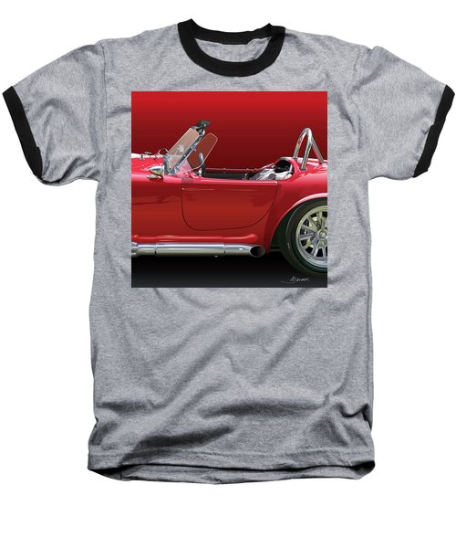 Ac Cobra Detail Baseball T-Shirt by Alain Jamar