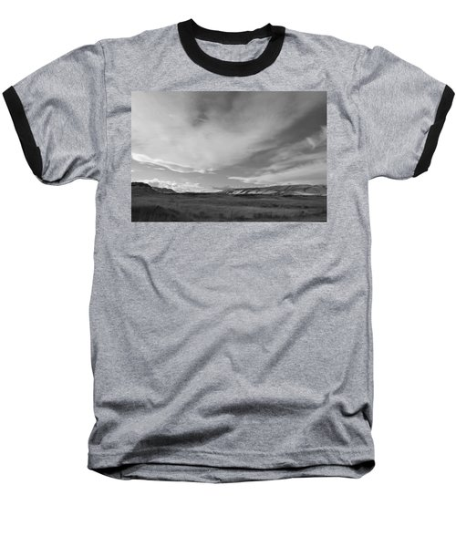 Baseball T-Shirt featuring the photograph Across The Valley by Kathleen Grace