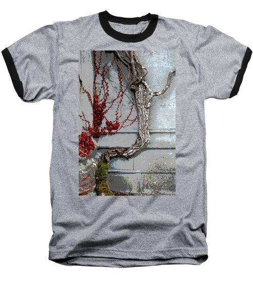 Baseball T-Shirt featuring the photograph Adare Ivy by Charlie and Norma Brock