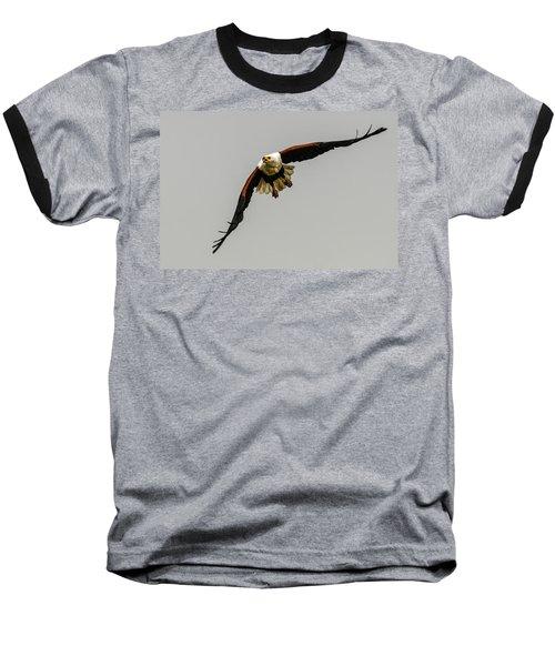African Fish Eagle Baseball T-Shirt