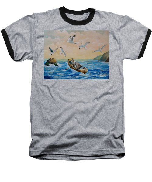 After A Fishing Day Baseball T-Shirt