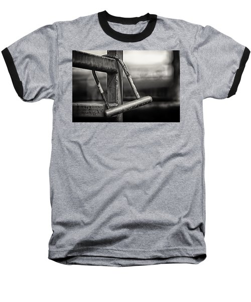 Baseball T-Shirt featuring the photograph After The Horse Has Bolted by Tom Gort
