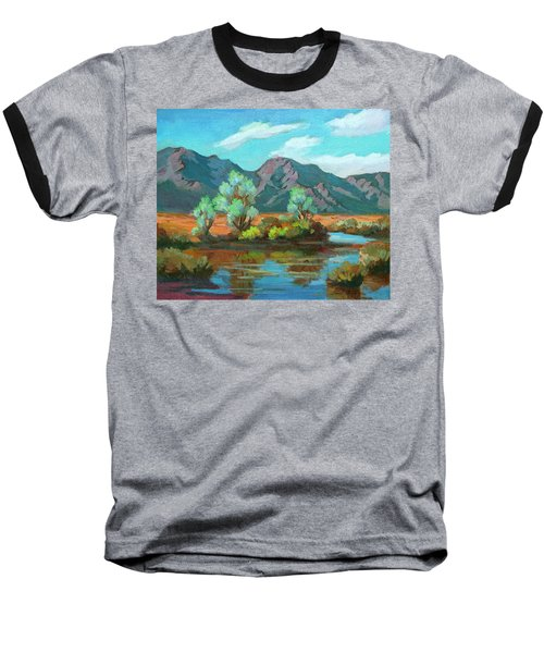 After The Rain Baseball T-Shirt by Diane McClary