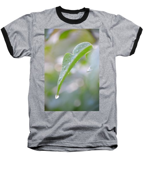 Baseball T-Shirt featuring the photograph After The Rain by JD Grimes