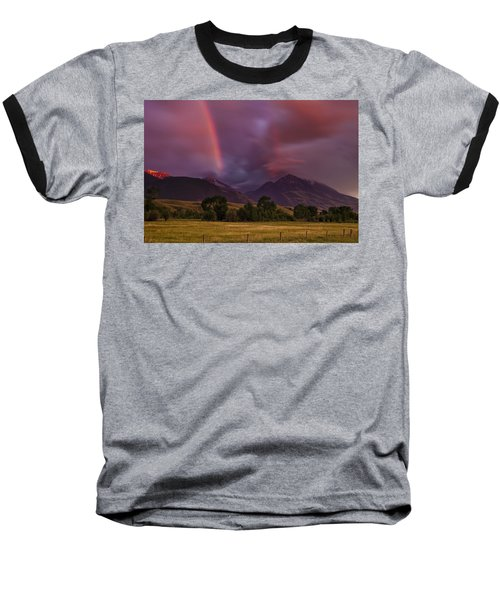 After The Storm Baseball T-Shirt by Andrew Soundarajan