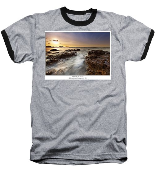 Baseball T-Shirt featuring the photograph Afternoon Tide by Beverly Cash