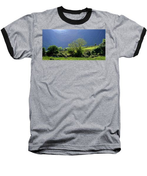Baseball T-Shirt featuring the photograph Against The Light by Barbara Walsh