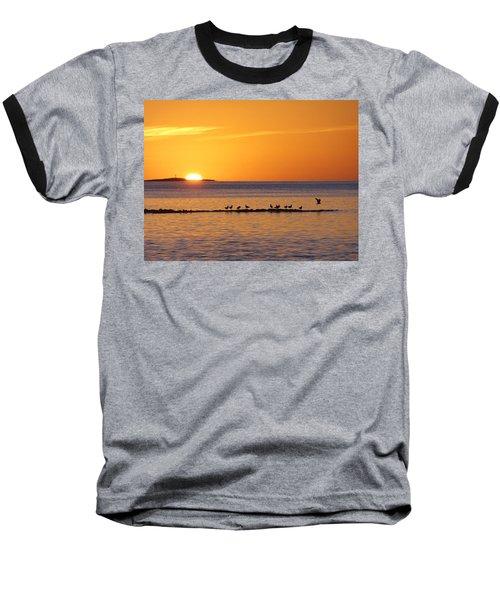 Baseball T-Shirt featuring the photograph Agua Verde Sunrise by Anne Mott