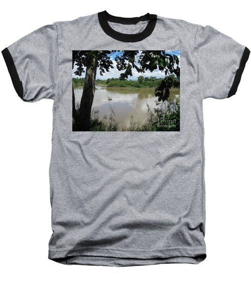 Agusan River Near Ja Pao Baseball T-Shirt