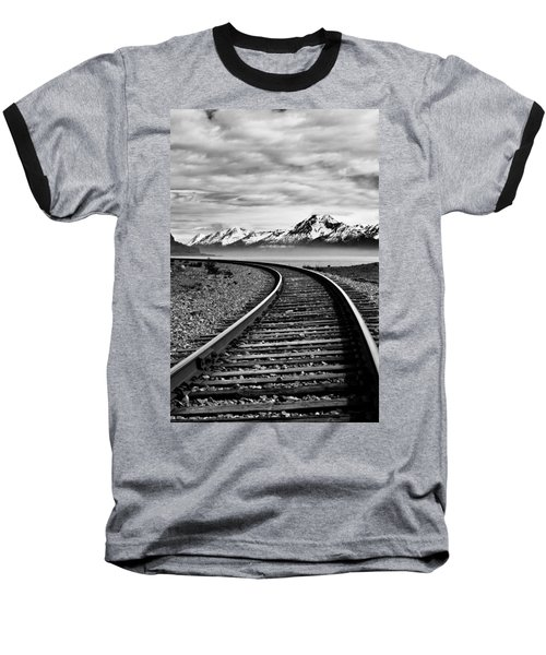 Alaska Railroad Baseball T-Shirt