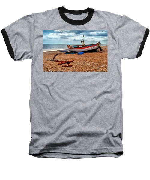 Aldeburgh Fishing Boat Baseball T-Shirt