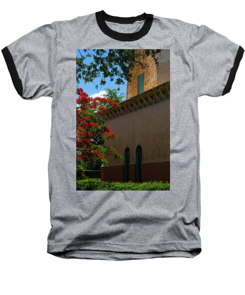 Alhambra Water Tower Windows And Door Baseball T-Shirt
