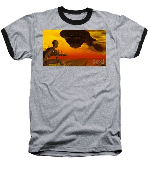 Alien Homecoming Baseball T-Shirt