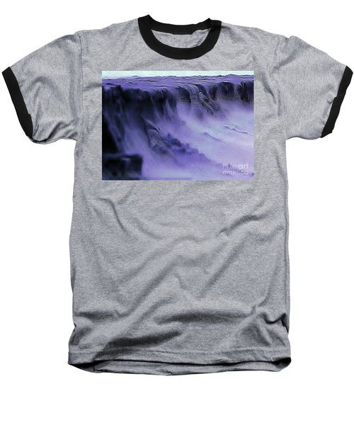 Baseball T-Shirt featuring the photograph Alien Landscape The Aftermath by Blair Stuart