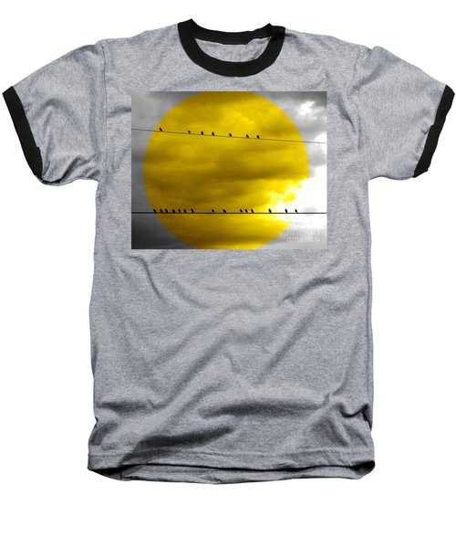 Baseball T-Shirt featuring the photograph All Around The World by France Laliberte