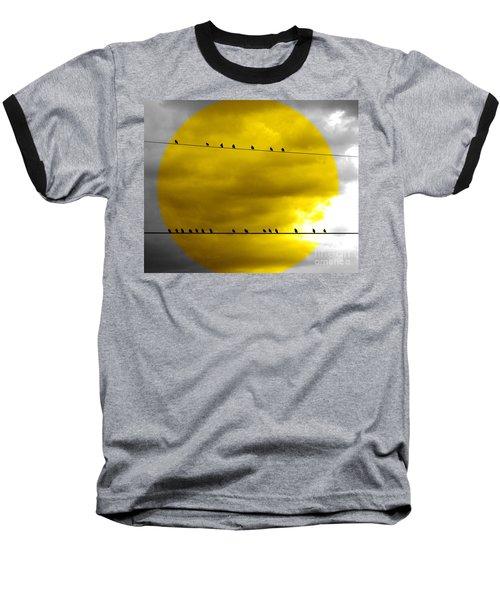All Around The World Baseball T-Shirt by France Laliberte