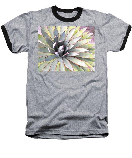 Aloe Baseball T-Shirt by Rebecca Margraf