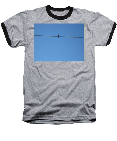 Baseball T-Shirt featuring the photograph Alone At Last by Kume Bryant