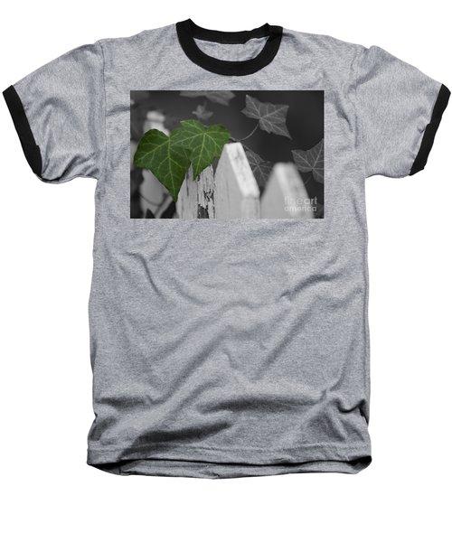 Along The Fence Baseball T-Shirt