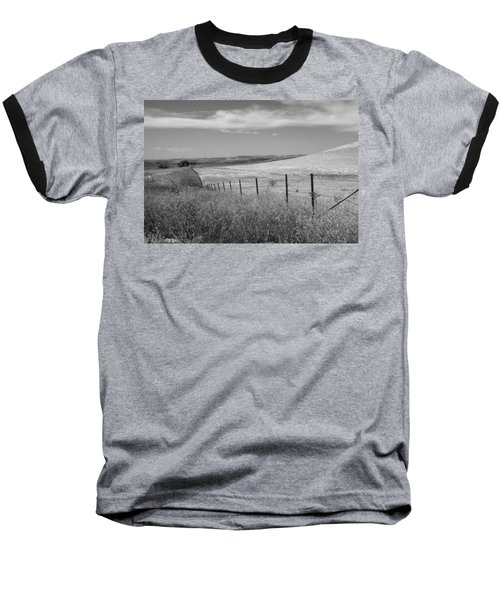 Baseball T-Shirt featuring the photograph Along The Line by Kathleen Grace