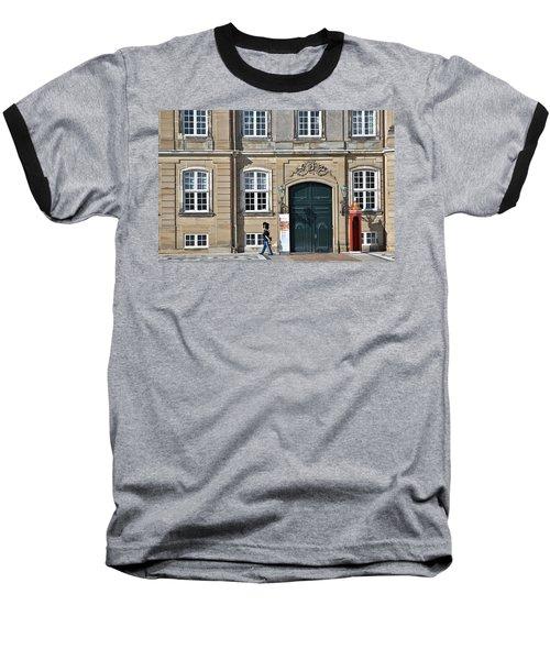 Amalienborg Palace Baseball T-Shirt by Steven Richman