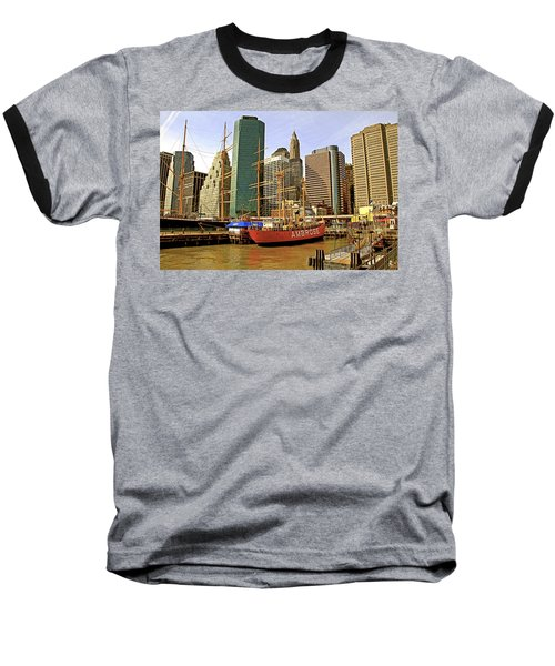 Baseball T-Shirt featuring the photograph Ambrose by Alice Gipson