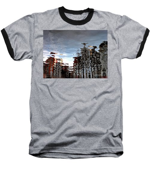 Amsterdam Reflections Baseball T-Shirt by Andy Prendy