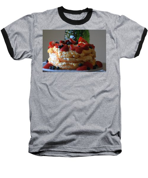 Baseball T-Shirt featuring the photograph Angel Food by Kay Novy