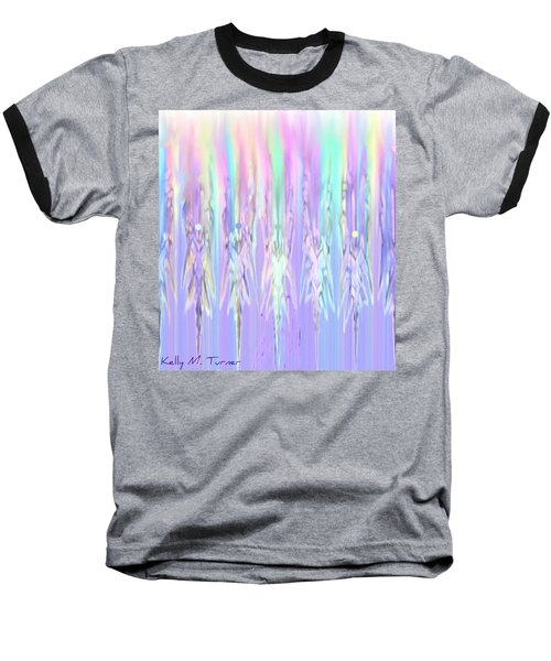 Angels Dancing Baseball T-Shirt by Kelly Turner