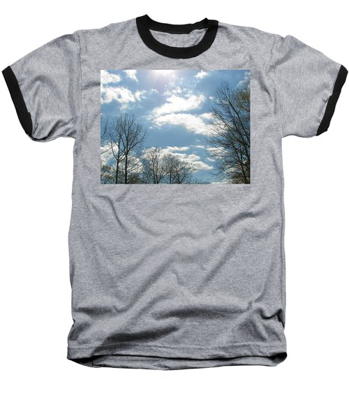 Baseball T-Shirt featuring the photograph Angels On High by Pamela Hyde Wilson