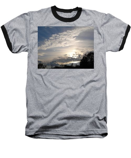 Angel's Wing Baseball T-Shirt
